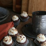 These delicious Chocolate Hazelnut Cupcakes with Sweet Cream Frosting are EASY to make. With just a few ingredients including a SURPRISE ingredient that adds a creamy flavor! The frosting is OVER THE TOP delicious! Click on the Photo for the Recipe!