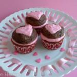 Heart Cupcakes - February 2011