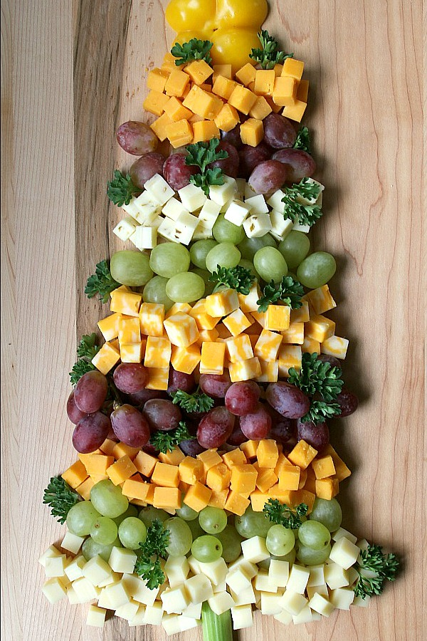 Fruit and Cheese Tree Appetizer