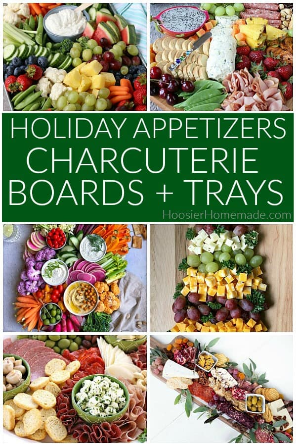 Holiday Appetizers Charcuterie Boards