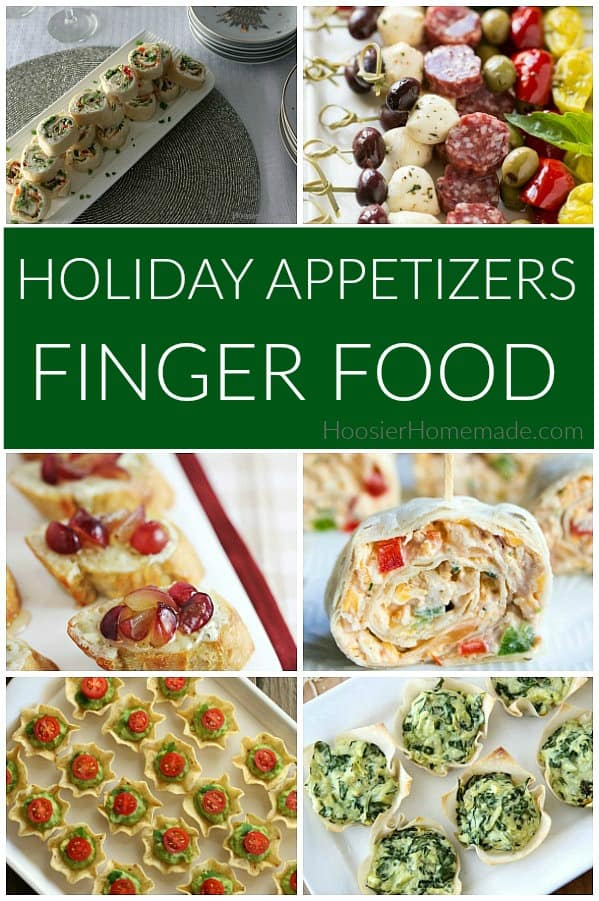Holiday Appetizers Finger Food