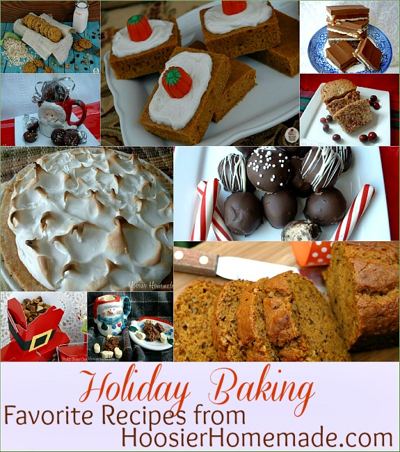 Holiday Baking Recipes from HoosierHomemade.com