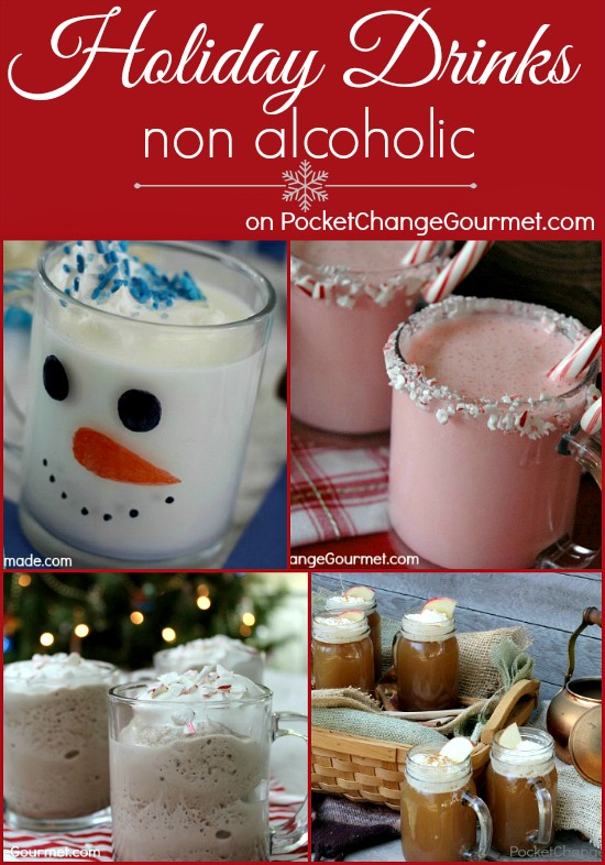 Holiday surprise punch and festive drinks pocket change for Drink recipes without alcohol