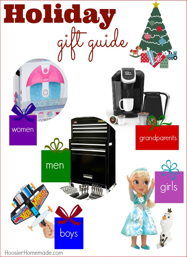Make gift giving easy with Holiday Gift Guide for the Family! Great gift ideas that won't break the bank! Pin to your Christmas Board!