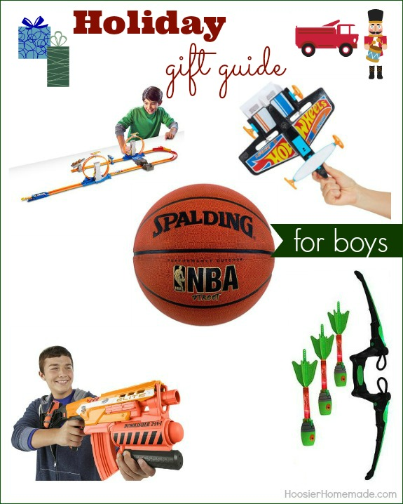 Make gift giving easy with Holiday Gift Guide for Boys! Great gift ideas that won't break the bank! Pin to your Christmas Board!