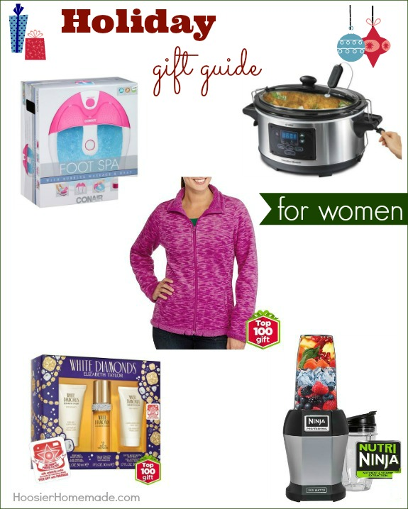 Make gift giving easy with Holiday Gift Guide for Women! Great gift ideas that won't break the bank! Pin to your Christmas Board!