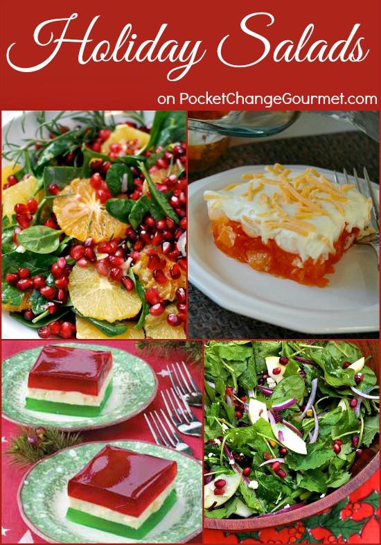 Holiday Salads | Recipes on PocketChangeGourmet.com