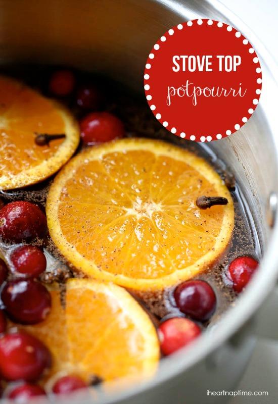 How to Make Homemade Potpourri | 100 Days of Homemade Holiday Inspiration on HoosierHomemade.com