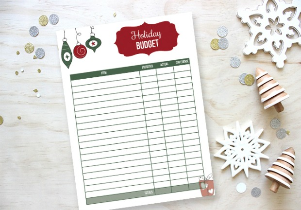 Grab your FREE Printable Holiday Budget Tracker to stay ahead of the game