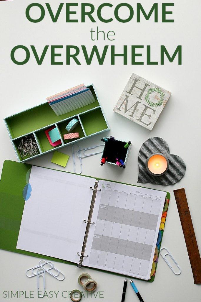 OVERCOME the OVERWHELM FREE 5-DAY JUMP START WORKSHOP