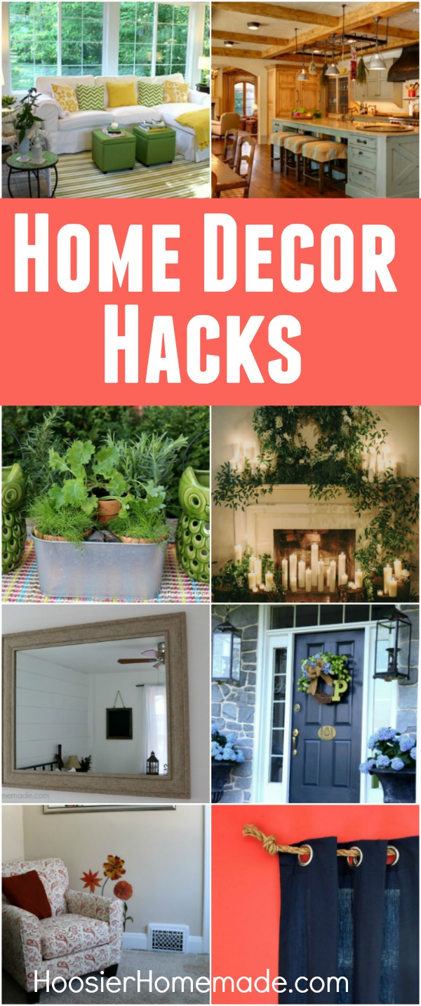 Home decor hacks hoosier homemade - Easy ways of adding color to your home without overspending ...