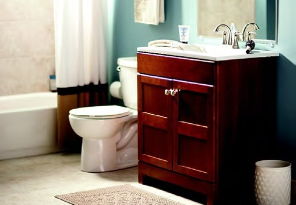 Renew and redo with home depot hoosier homemade for Renew bathroom