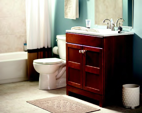 Renew and redo with home depot hoosier homemade for Bathroom ideas home depot