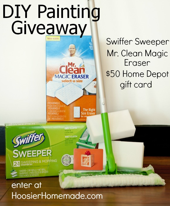 Home Depot P&G Prize Pack Giveaway