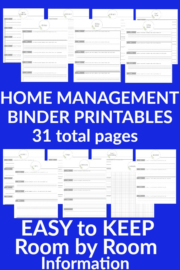 photograph regarding Free Printable Household Binder referred to as House Manage Binder - Hoosier Home made