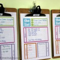 Home Organizing Tips: Daily System | Tackle your busy life with this daily schedule | Details on HoosierHomemade.com