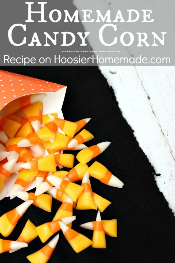 Homemade Candy Corn - Quite possibly the most popular candy for Fall and Halloween is Candy Corn. Yes - Homemade Candy Corn, it's possible and pretty easy too! AND it's SO much better than store bought!