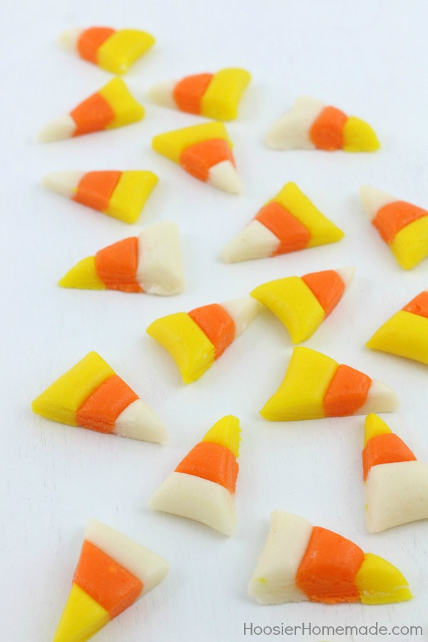 HOMEMADE CANDY CORN -- Recipe + Video on how to make your own candy corn! It's easier than you think!