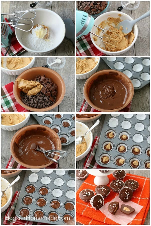How to make Homemade Peanut Butter Cups