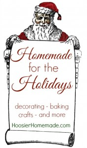 Homemade for the Holidays on HoosierHomemade.com