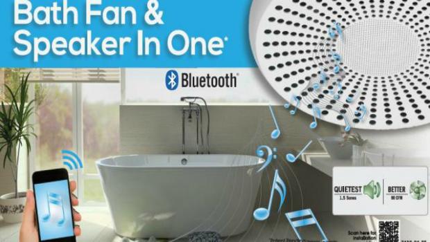 Homewerks Bluetooth Bath Fan