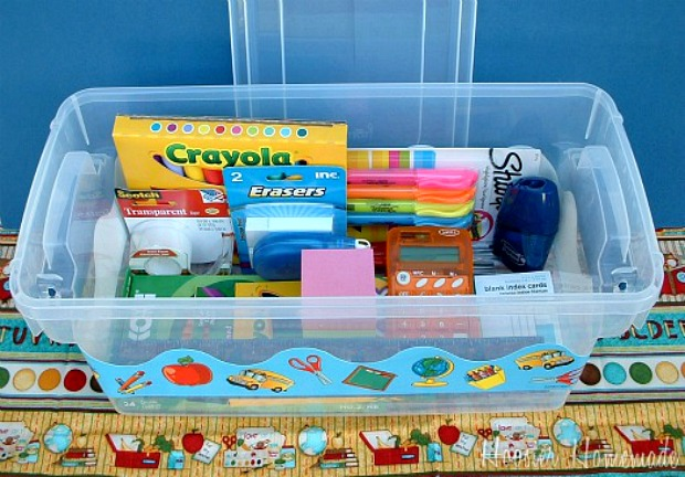Homework Box :: HoosierHomemade.com