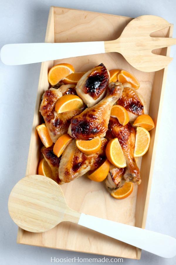Honey Glazed Chicken Recipe in a bowl