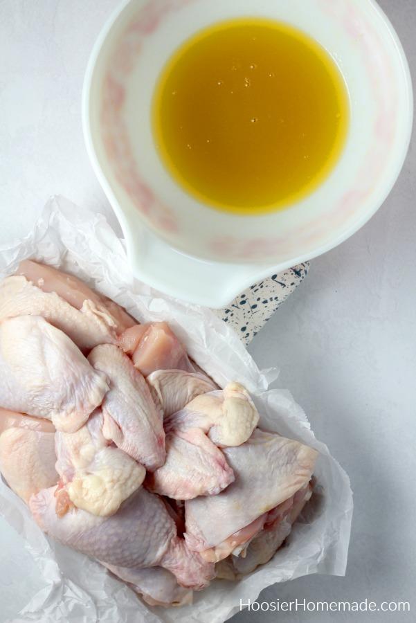 Marinade for Honey Glazed Chicken