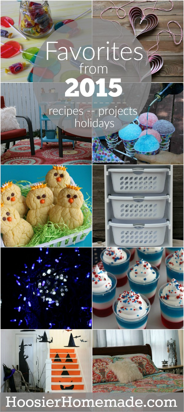Simple - Easy - Creative :: The favorite recipes, projects and holiday ideas from HoosierHomemade.com for 2015