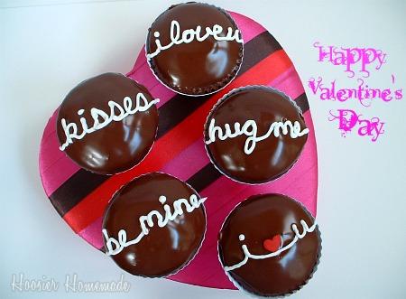 Chocolate Valentine Cupcakes Cupcake Corner Hoosier