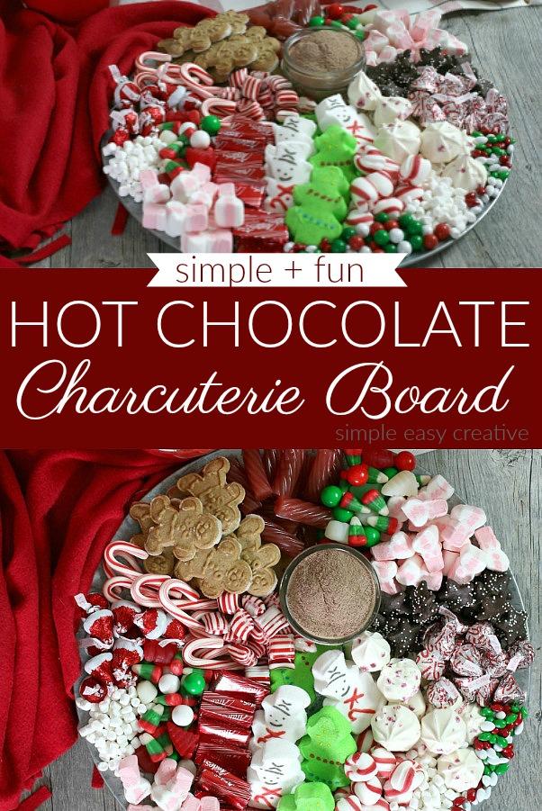 Hot Chocolate Dessert Tray
