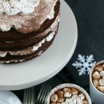 This showstopping Hot Chocolate Cake has layers of moist chocolate cake, pudding, whipped topping, marshmallows and yes, it has hot chocolate too. With these simple ingredients, you are on your way to this spectacular Holiday Cake that everyone will LOVE!