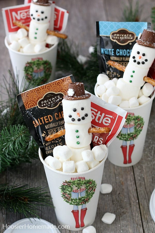 To Go Cup with Hot Cocoa