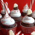 Hot Cocoa Cupcakes featured