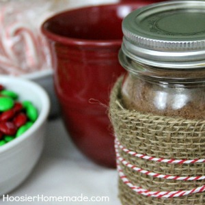 Hot Cocoa Gift Basket :: HoosierHomemade.com