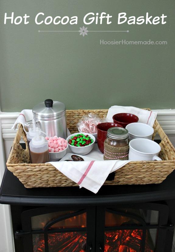 Hot Cocoa Gift Basket - Hoosier Homemade