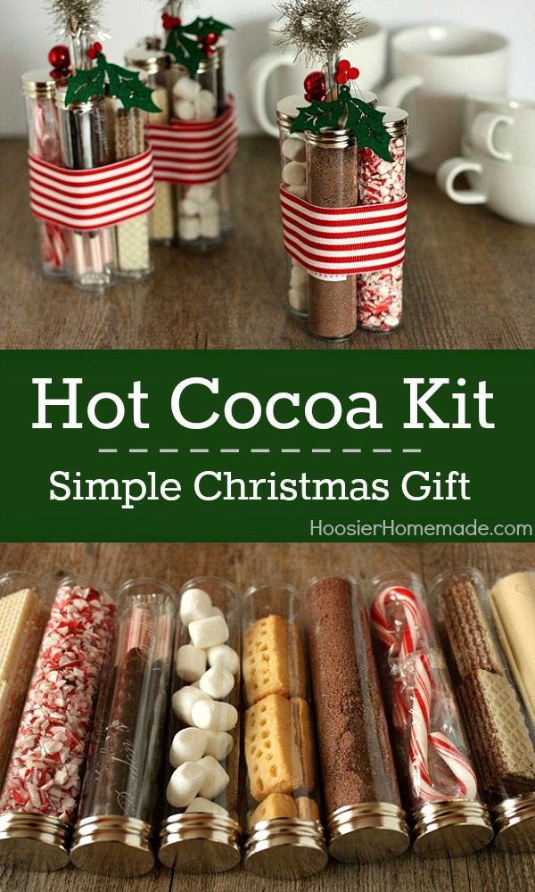 Hot chocolate gift ideas for christmas