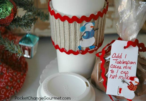 Hot Cocoa Mix and DIY Mug Cozy
