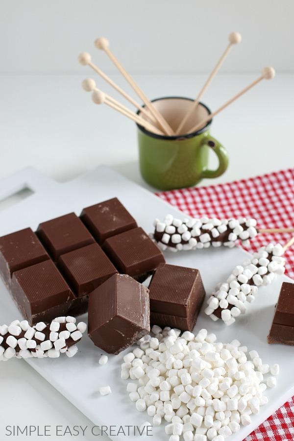 Hot Chocolate Stirrers Supplies