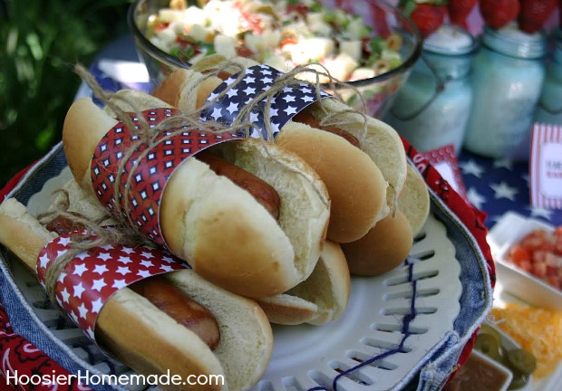 Printable Hot Dog Wraps