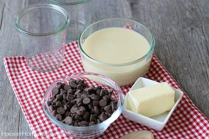 Ingredients for Hot Fudge Recipe