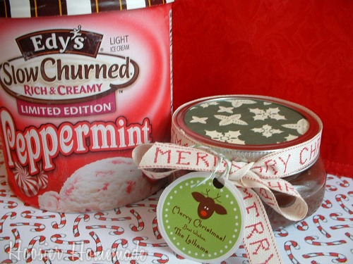 Pair it up with some Peppermint Ice Cream, add a ribbon, a circle of ...
