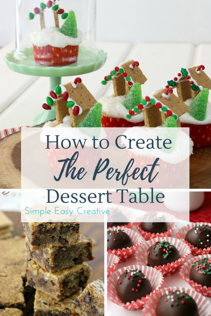How to Create the Perfect Holiday Dessert Table