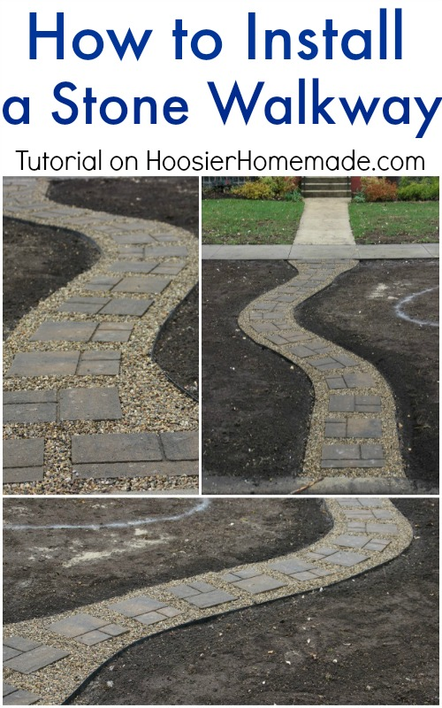 How to Install a Stone Walkway