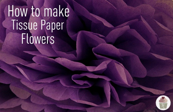 How to make tissue paper flowers hoosier homemade yeswe put these these beautiful big tissue paper flowers mightylinksfo