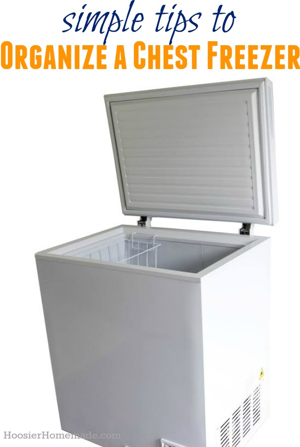 No need to dig to the bottom of your freezer any more! Learn how to organize a chest freezer in 5 SIMPLE steps!