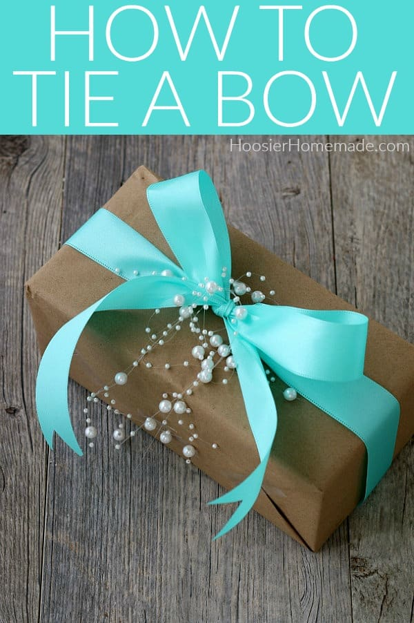 How to Tie a Bow for a Gift
