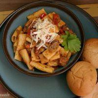 Beef Rigatoni Recipe