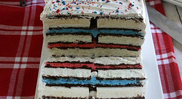 Ice Cream Sandwiches Cake
