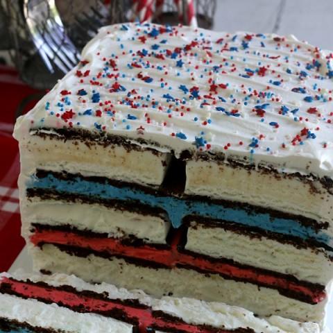 Ice Cream Sandwiches Cake
